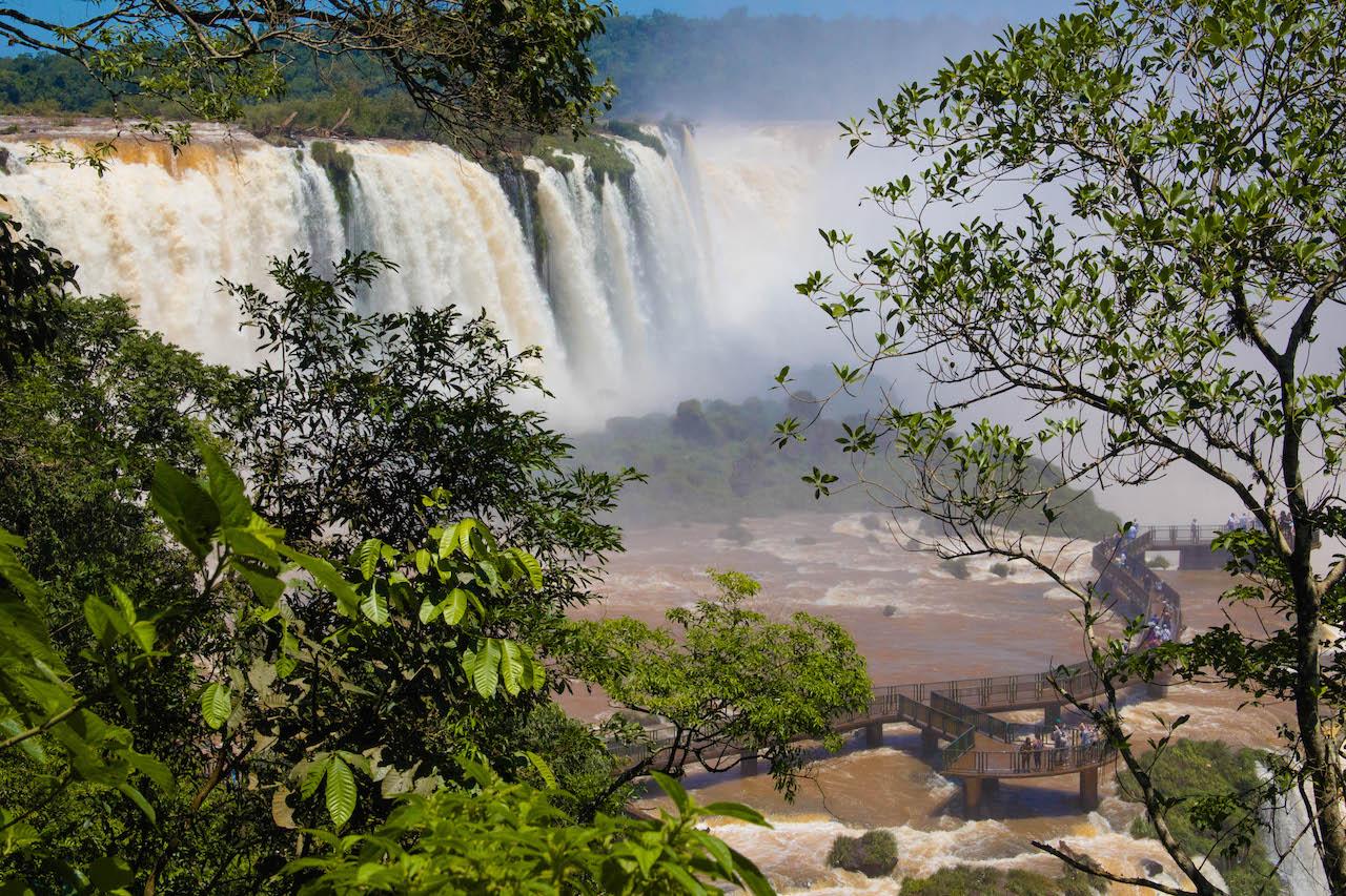 Confira os horários de transporte para as Cataratas do Iguaçu | Foto: Rafael Guimarães