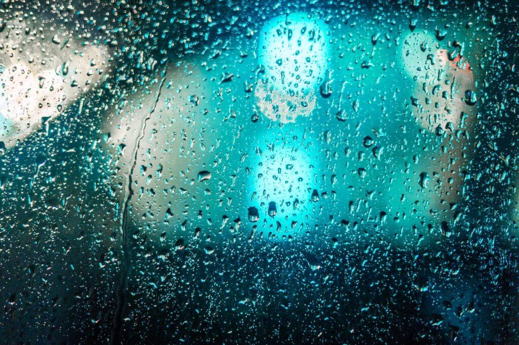 chuva em foz